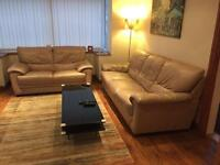 3 seater soda + 2 seater sofa + ottoman