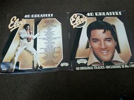 Elvis Presley's 40 Greatest hits compilation.