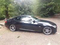 ***BMW 320i M Sport Coupe Black Enhanced Spec Model***
