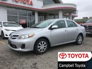 2011 Toyota Corolla CE ENHANCED--LOW KM'S--PW-PL-AUTO