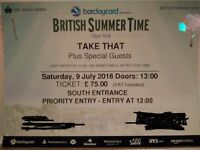 British Summer Time - TAKE THAT - Hyde Park, Saturday 9th July