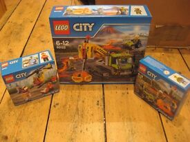 LEGO City Sets x 3 60122 60120 60100 - ALL BRAND NEW & SEALED NOW SOLD