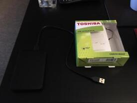 External hdd 1tb brand new boxed