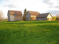 3 Small Historic Barns In Excellent Shape For Sale in Gagetown