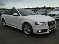 2012 Audi A4 2.0 tdi S-Line motd may 2021 only £30 pound a year tax