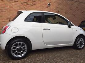 Fiat 500 multi jet 1.3 Diesel very clean little car cheap tax motd very reliable car lady owner.