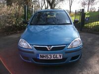 Vauxhall Corsa 1.2 i 16v Life 5dr£ 3 MONTHS NATION WIDE WARRANTY 2004 (53 reg), Hatchback