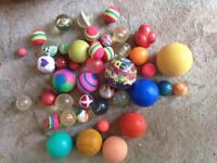 A collection of balls