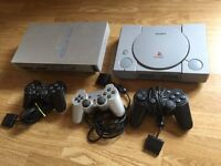 PlayStation 1, PlayStation 2 consoles, spares or repair