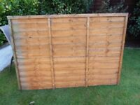 Two Fence Panel's