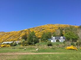 To Let from April - Beautiful 3 / 4 Bedroom Rural House 10 Minutes from Beauly