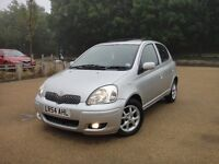 Toyota Yaris 1.3 VVT-I T Spirt, 5DR Full Automatic Low Miles Full Service History + MOT+ Hpi Clear
