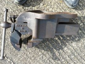 Record no 23 Metal working heavy duty quick release vice for spares or repair