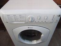 Hotpoint 7kg washer dryer in good clean working order with 3 months warranty