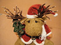 "Animated Fibre optic & musical ""CHRISTMAS REINDEER"". Sings Rudolph the red nosed Reindeer."
