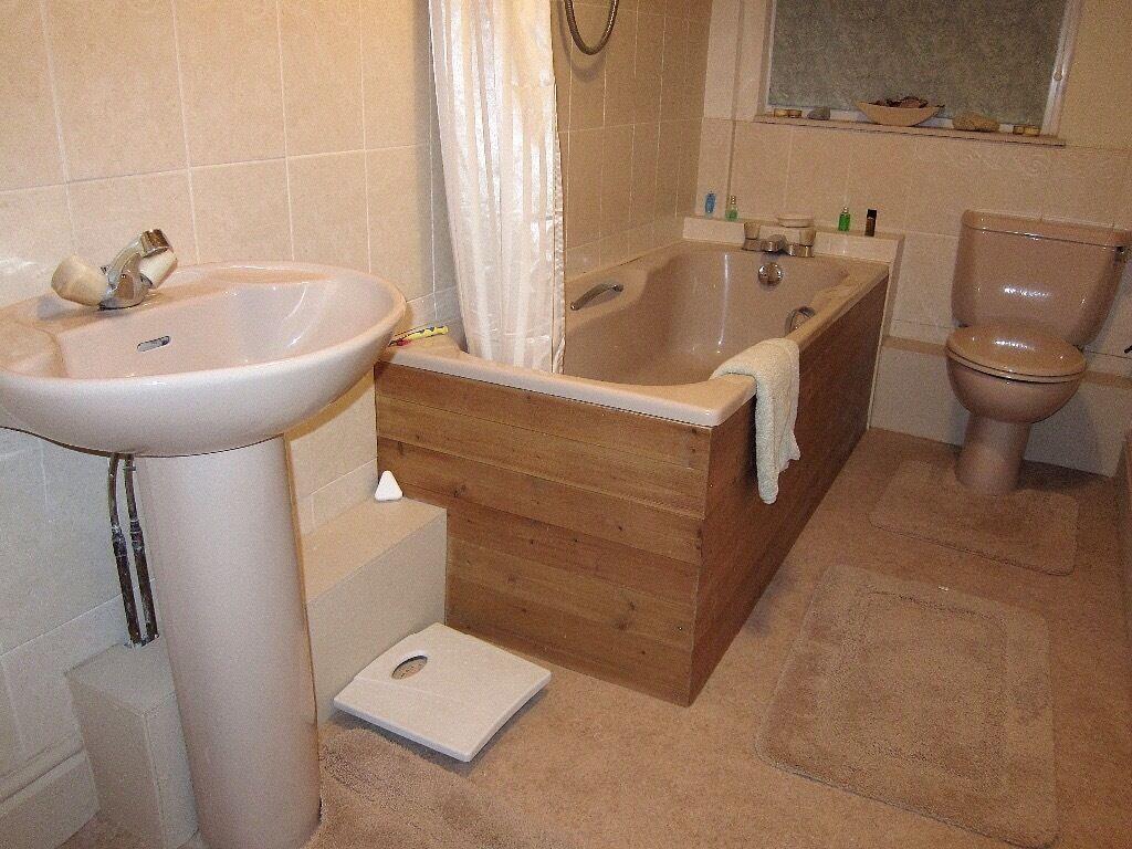Bathroom Suites Manchester Bathroom Suite Bath Toilet Basin In Wigan Manchester Gumtree