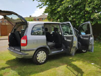 2004 VAUXHALL ZAFIRA 1.8 AUTOMATIC 7 SEATER 9X SERVICES LOW MILES DRIVES/LOOKS GREAT 7 SEAT P/X POSS