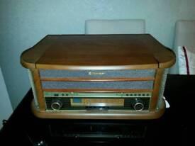 Retro style hi-fi system