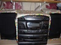 akai hi-fi system for sale