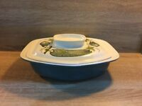 Poole Pottery marrow pattern tureen from the lucullus range designed by Robert Jefferson.