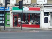 Shop to Rent Hackney Wick London E9. Lock up shop to let East London. Gt location on busy Wick Road