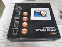 Clarity 6in Digital Photo Frame