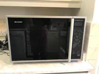 Table top convection oven and microwave