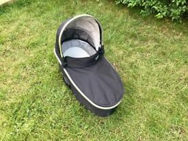 Oyster carrycot black