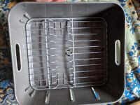 Plastic Dish Drainer rack 32cmsx35cms home or camping