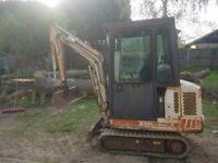 Bobcat 1.5 tonne mini digger