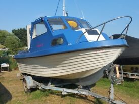 17 ft. Boat, 60 HP engine