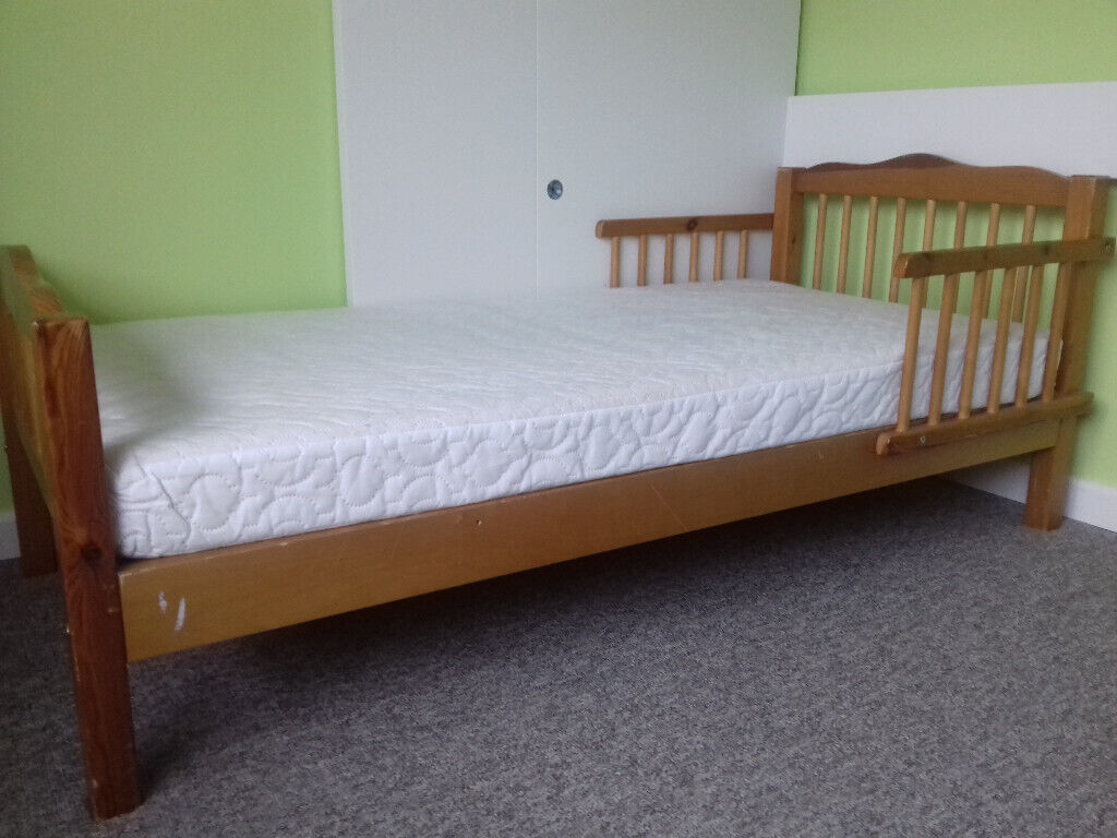 check out d340d 4863b Toddler bed in pine 148x68cm | in Lymington, Hampshire | Gumtree