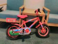 Kids fire chief bike