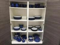 Large collection of Denby Imperial Blue