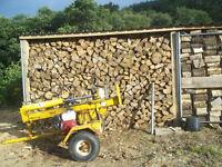 Well seasoned firewood.