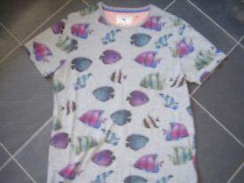 Ted Baker T-Shirt Size 4 Medium