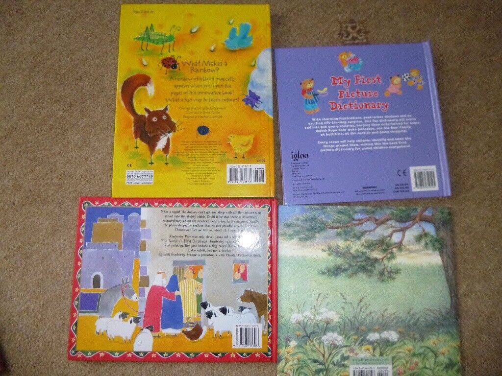 Four Young Childrens Books In Excellent Condition In Downend