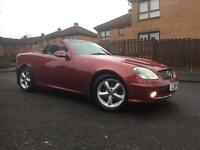Mercedes- Benz SLK 320 1YEARS MOT, LOW MILES
