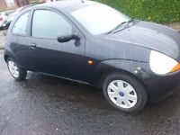 FORD KA LIMITED EDITION 2003 LONG MOT MOT! 50 MPG RAREBLACK 76000MILES 4 NEWTYRES /EXHAUST 495!