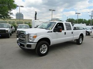 2013 Ford F-350 crewcab 4X4 gas 8ft longbox