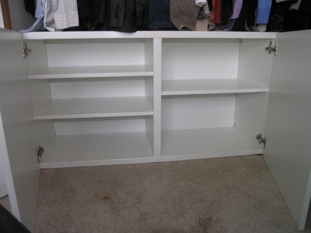 Ikea white gloss sideboard 3 door buy sale and trade ads for White gloss sideboards at ikea