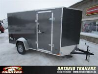 "2016 Stealth Trailers  6 x 12 +24"" v nose / double rear doors /"