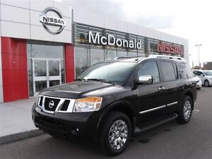 2015 Nissan Armada Platinum, One owner, Navigation, Leather heat