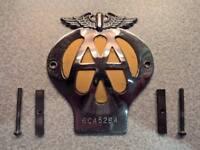 AA Badge - 1962/3