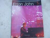 "1998 ""ELTON JOHN"" HARDBACK BOOK."