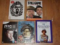 5 new dvd box sets- still game/ tutti frutti/ cracker/ dinnerladies/billy connolly
