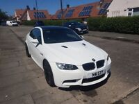 white limeted edition bmw m3