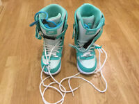 Nike Zoom Force 1 snowboard boots, UK size 5.5 (EU size 39)