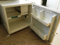 Zanussi table top fridge with ice compartment