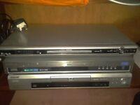 Sony, Samsung & Asda DVD players £5 each